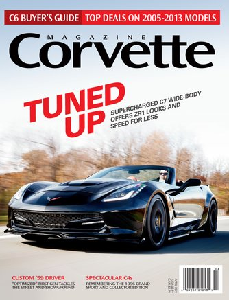 Corvette Magazine April 2019 Front Cover