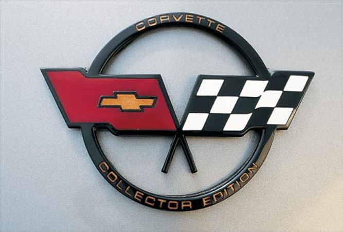 Collector Edition Corvette Emblem